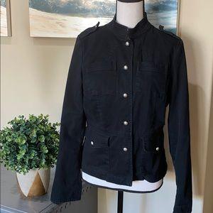 Mossimo black military style blazer